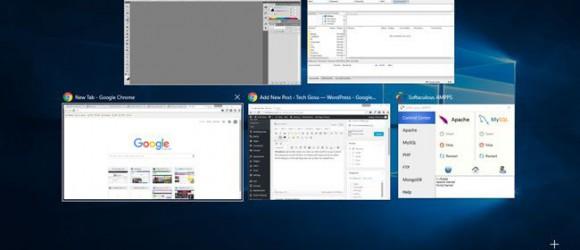 phím tắt mở Task View windows 10