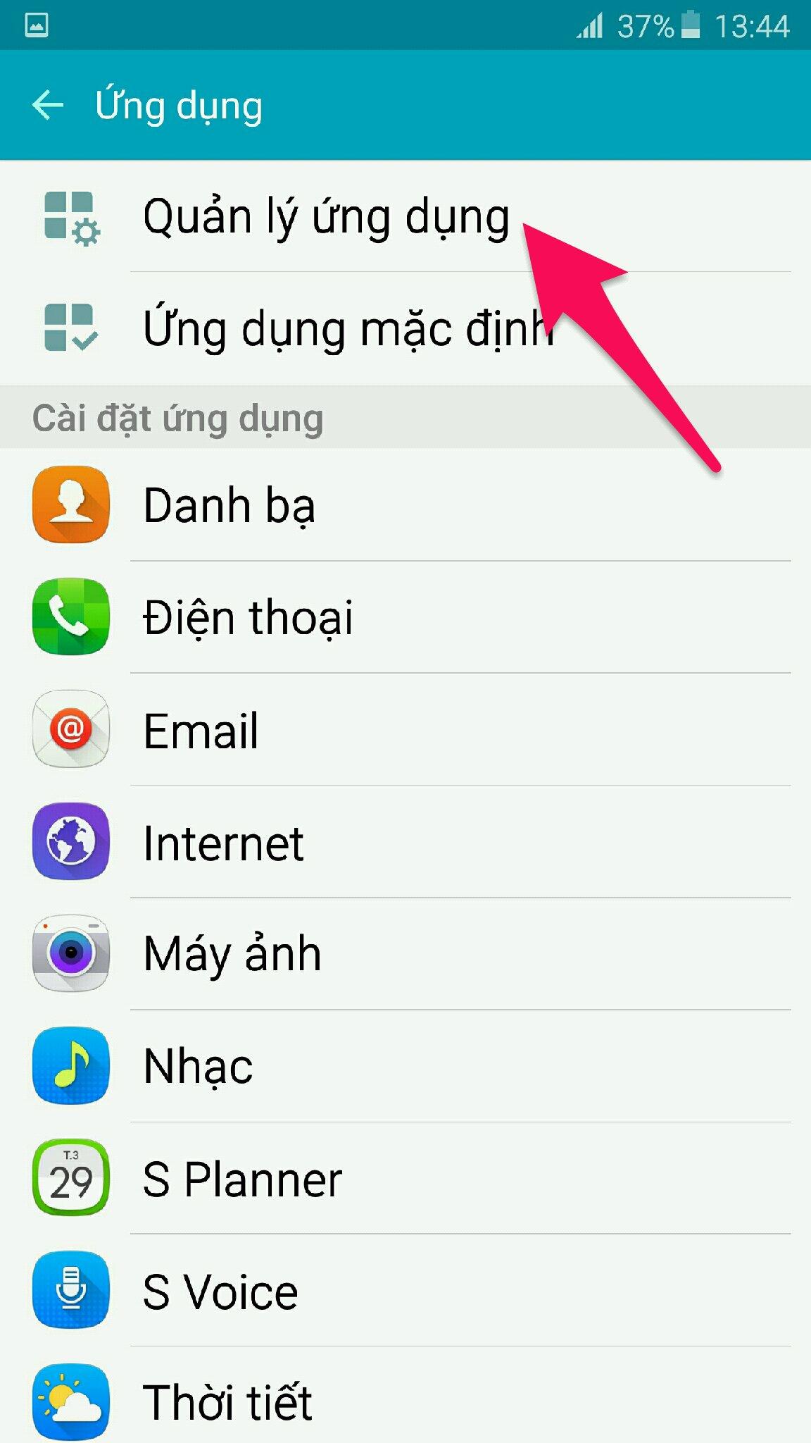quản lý ứng dụng messenger