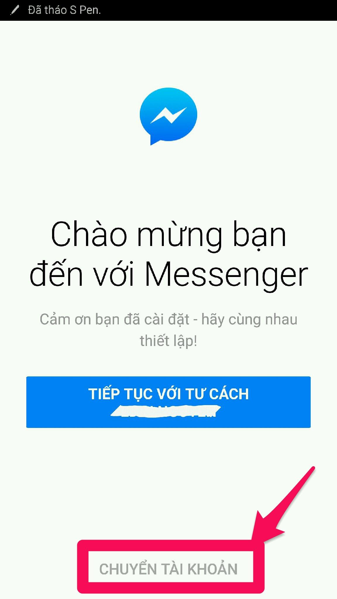 ứng dụng Messenge