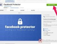 tiện ích Facebook Protecto