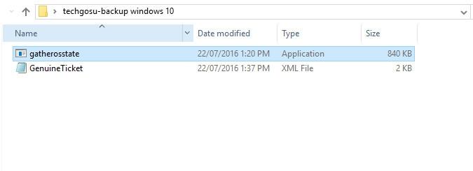 Backup bản quyền windows 10