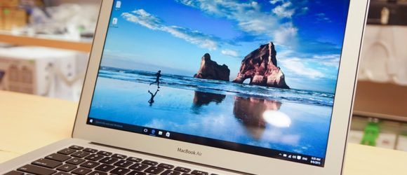 macbook chay windows 10