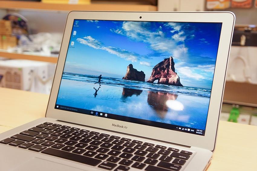 macbook chay windows 10