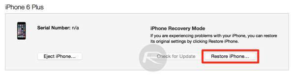 restore iphone apple