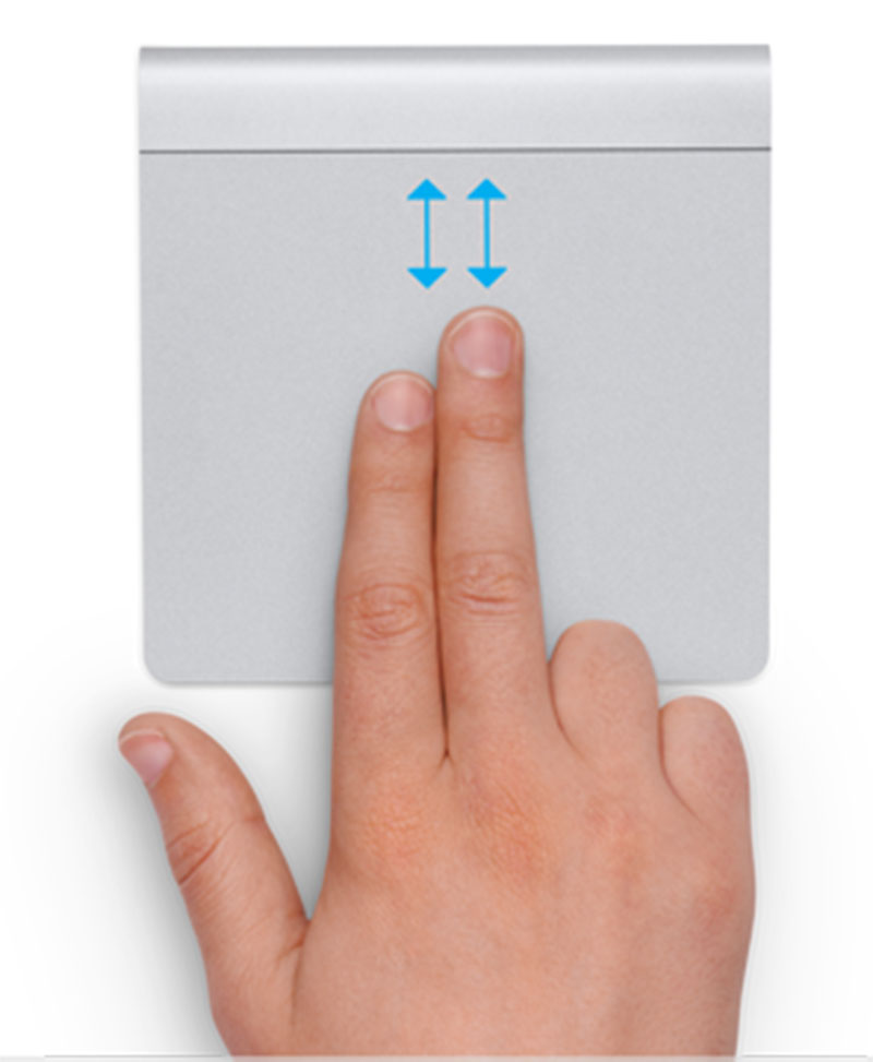 Cách sử dụng trackpad Macbook