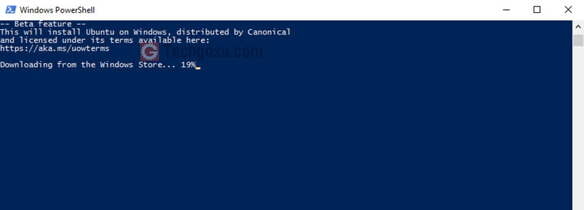 cài bash shell windows 10