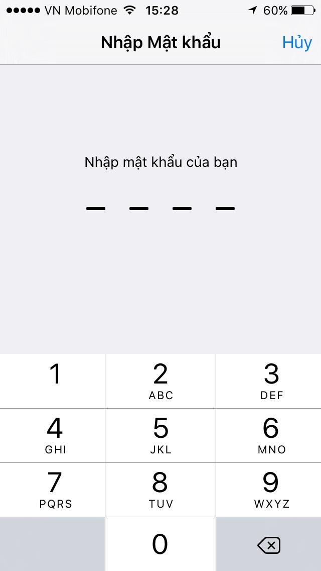 cập nhật ios cho iphone