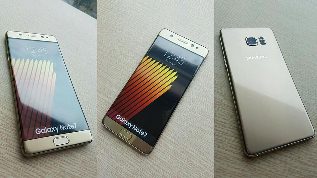 hình ảnh Galaxy Note 7