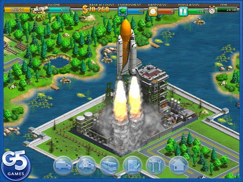 virtual city game ios