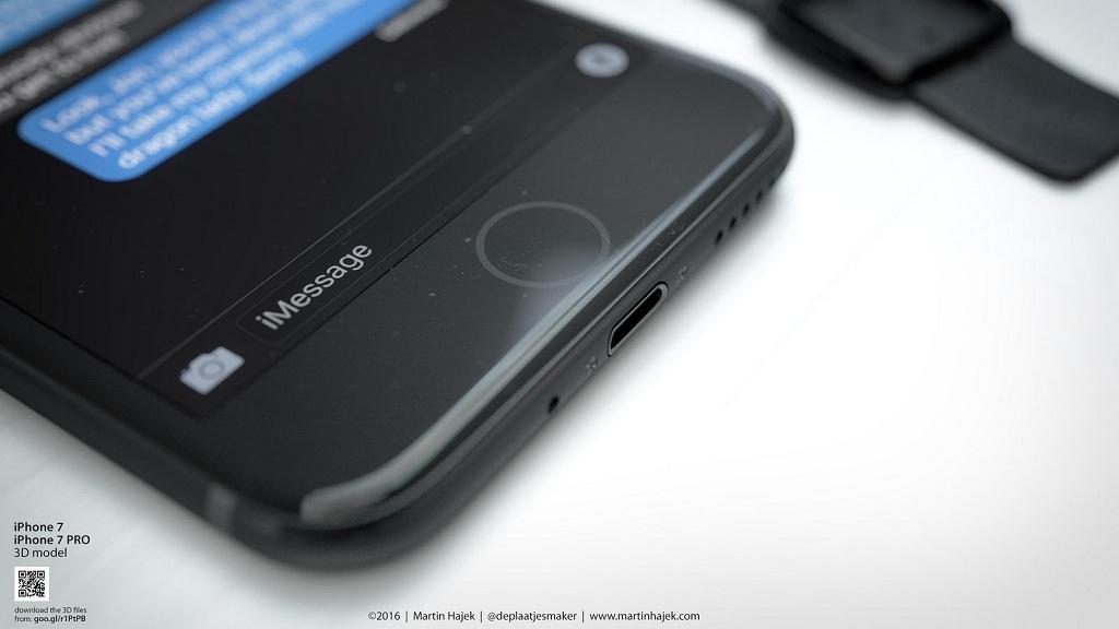 cảm ứng lực trên iphone 7