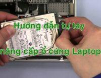 thay ổ cứng laptop tại nhà