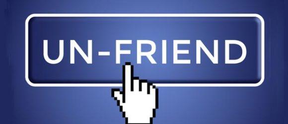 huỷ kết bạn trên facebook