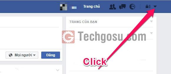 khóa facebook