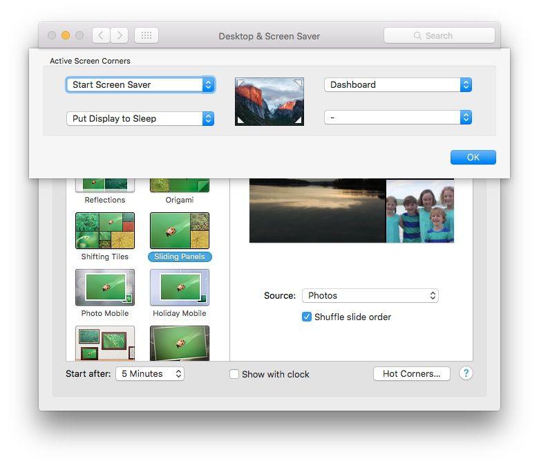 khoá màn hình macbook