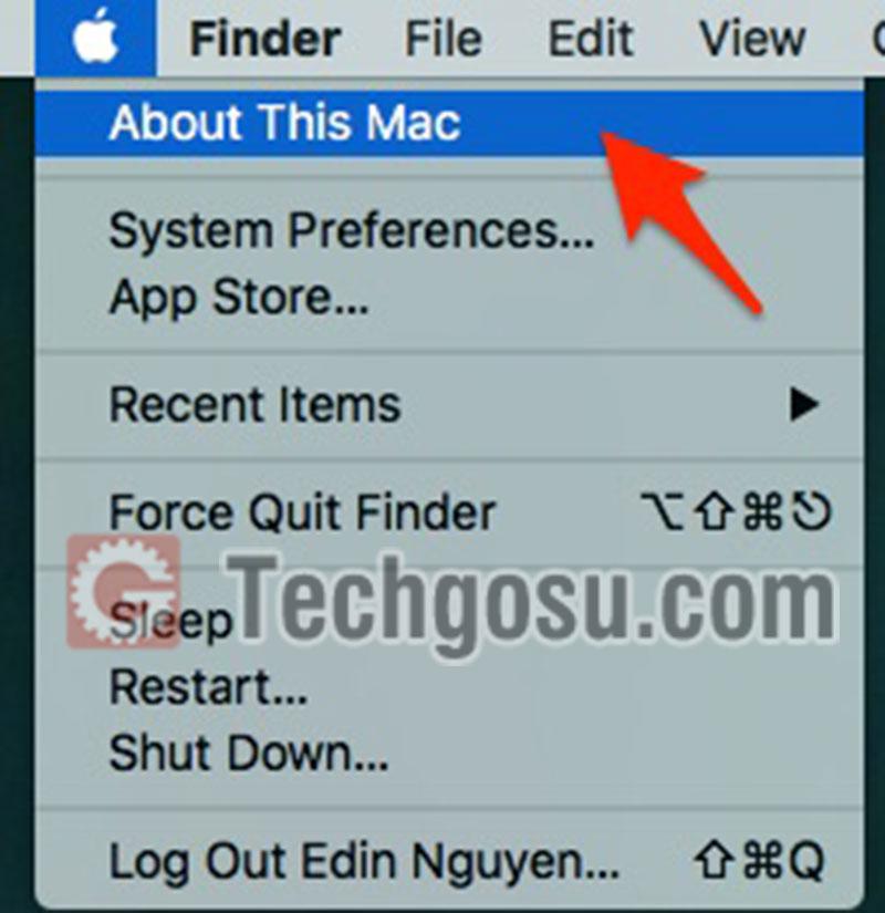 Kiểm tra cấu hình Macbook iMac