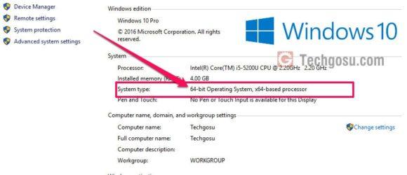 kiểm tra windows 32bit hay 64bit