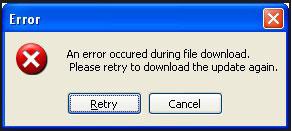 Lỗi không tải được trên Chrome