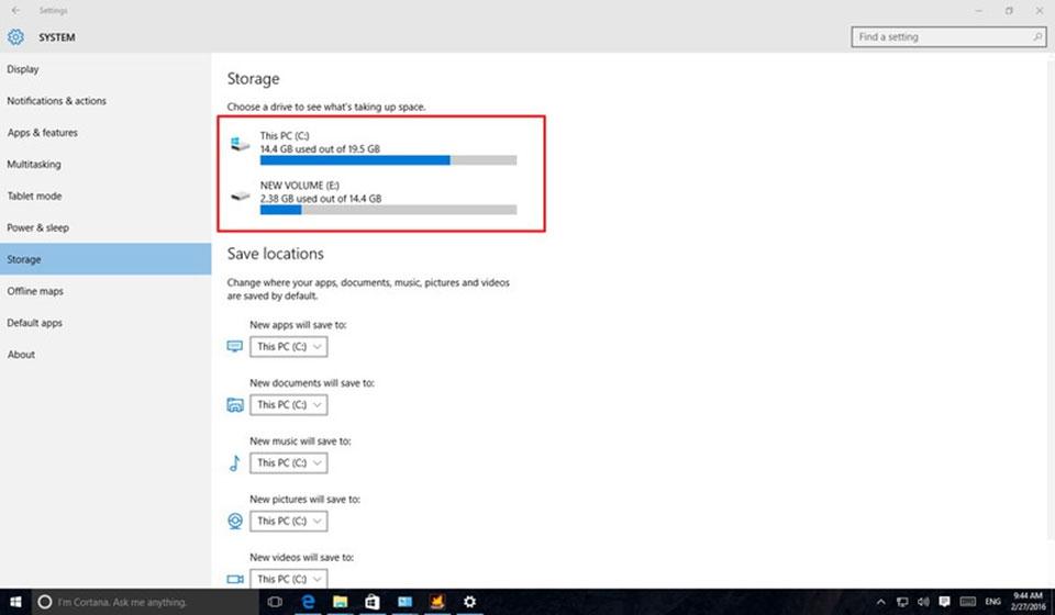 dọn dẹp ổ cứng windows 10
