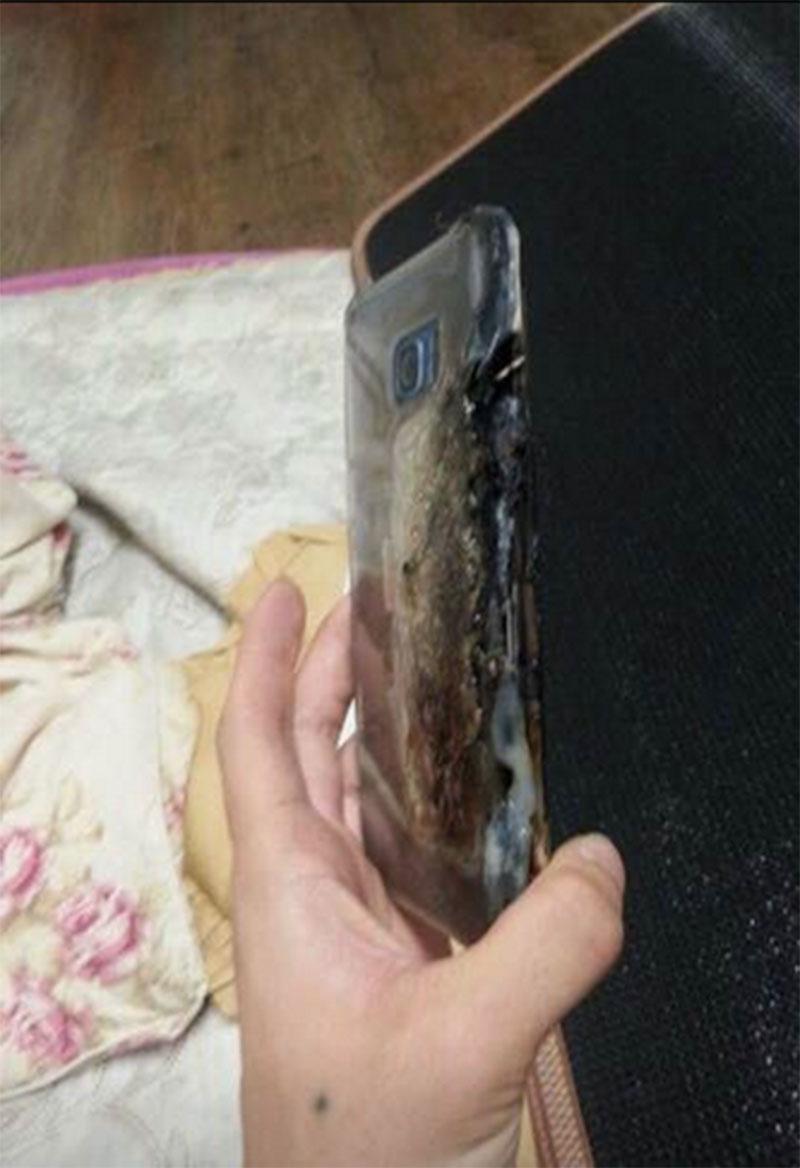 Note 7 phát nổ