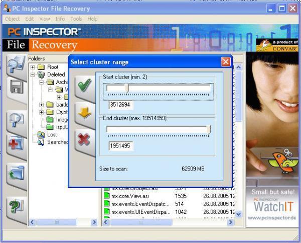 phần mềm recovery
