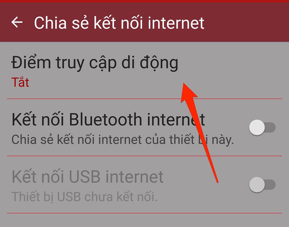 Cách phát wifi trên Android