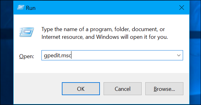 gpedit windows 10