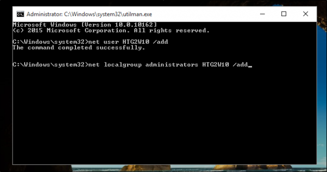 reset mật khẩu windows