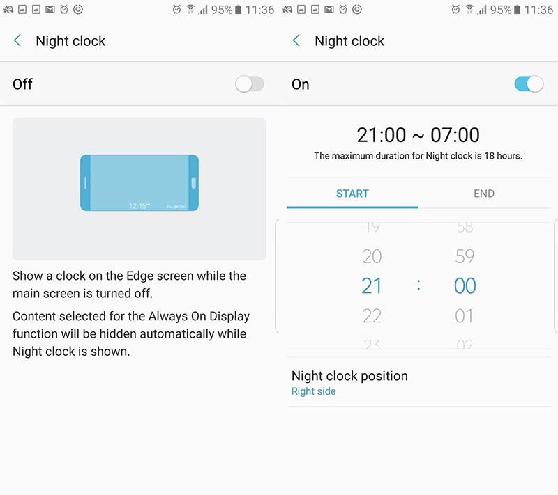 các tính năng của Galaxy Note 7