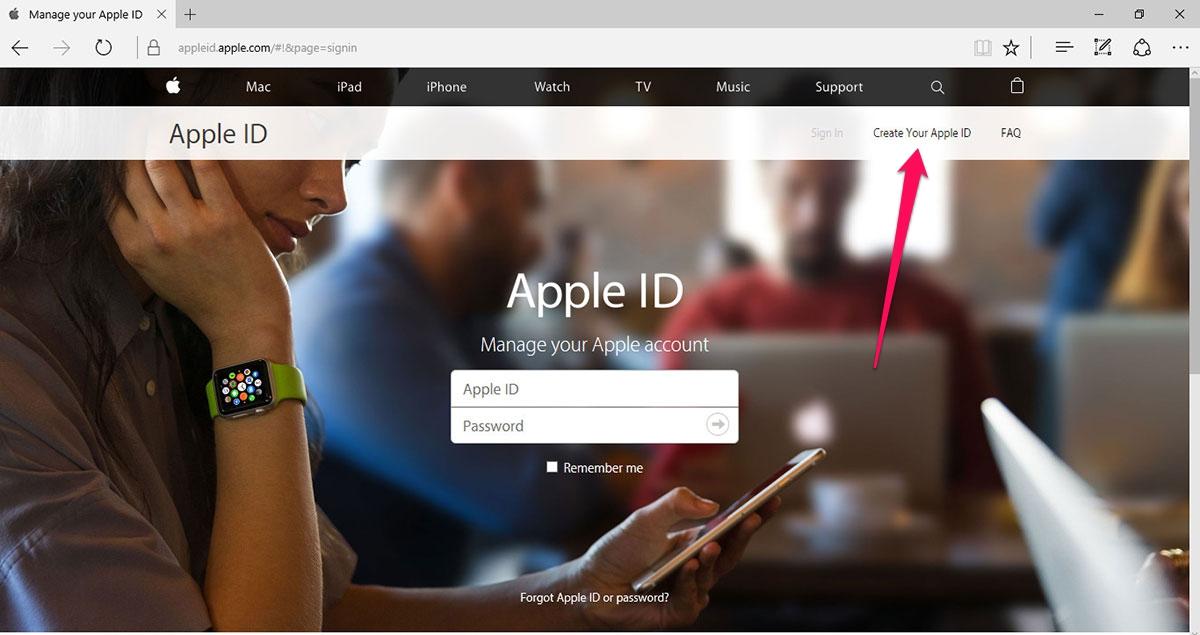 tài khoản apple id