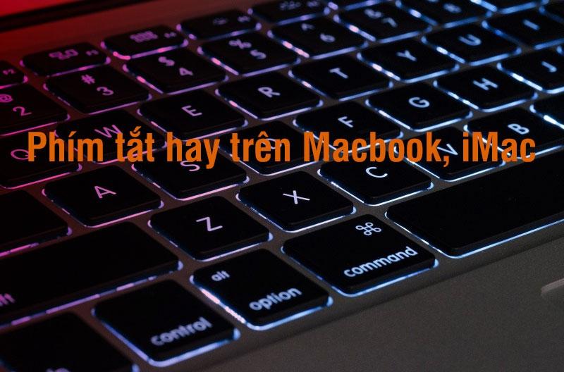 tổng hợp phím tắt cho macbook