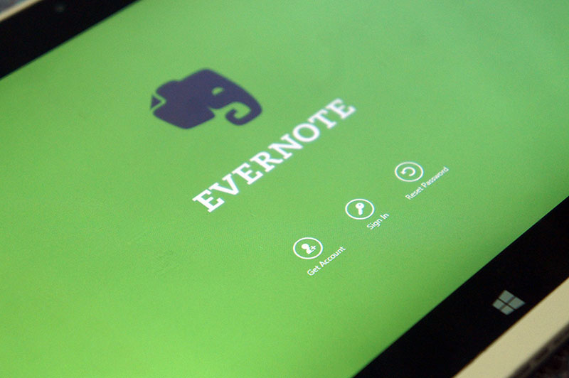evernote windows 10