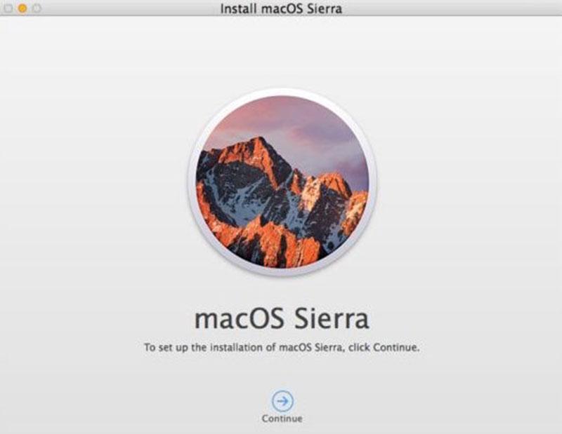 Những lỗi thường gặp trên Mac OS Sierra