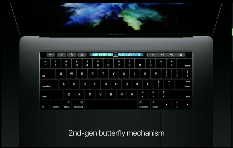 bàn phím cơ chế butterfly
