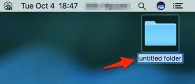 Cách đổi tên thư mục trong Mac OS X