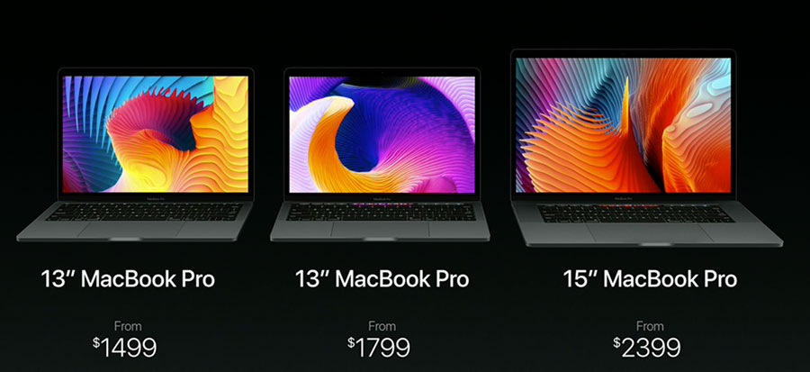 giá bán macbook pro 2016