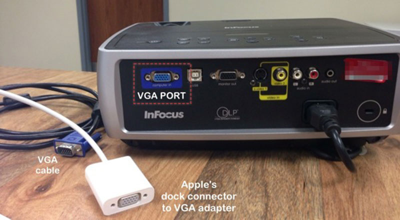 kết nối Macbook Air Macbook Pro với máy chiếu