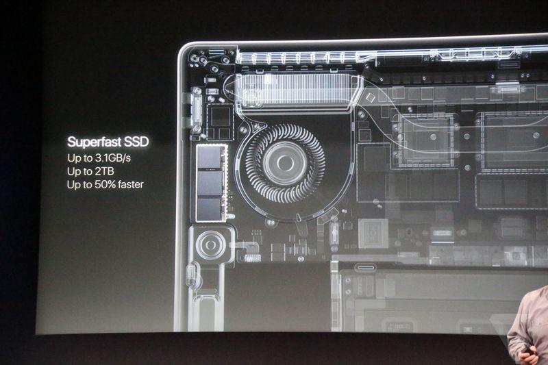 ổ cứng ssd macbook pro 2016