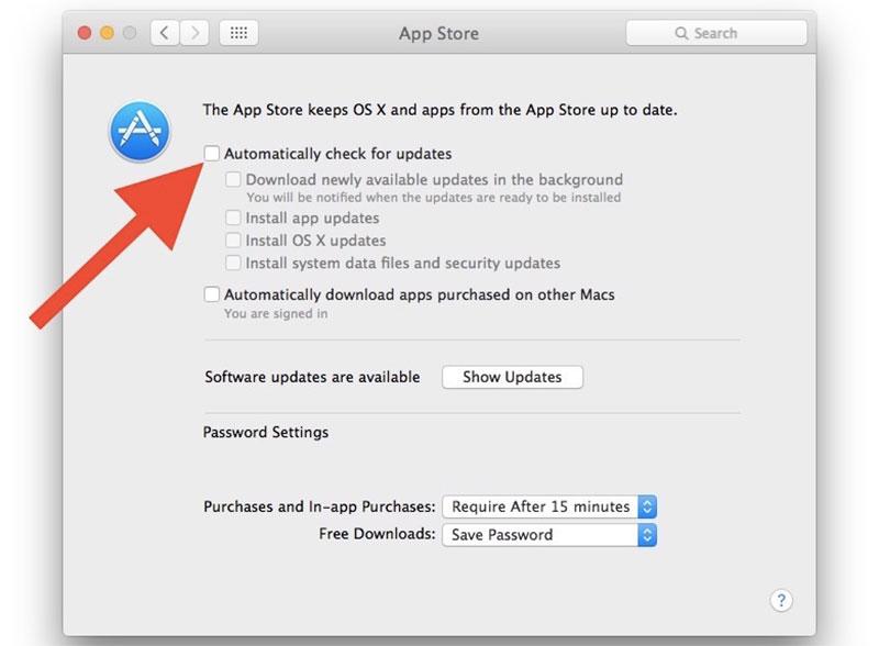 Tắt tự động tải về trên Mac OS Sierra