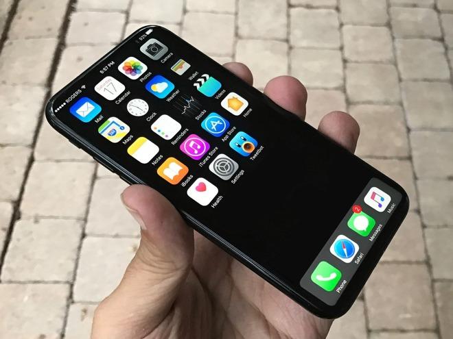 iphone 8 màn hình cong