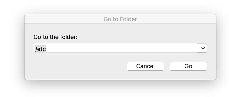 chỉnh sủa file host trên mac osx
