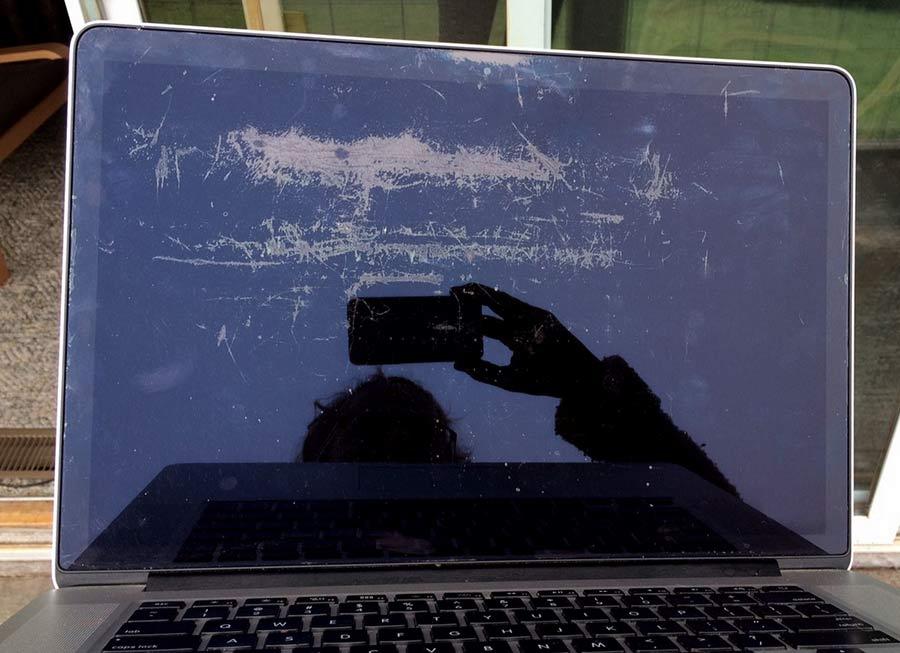 màn hình retina bị lỗi