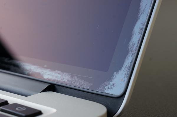 macbook màn hình retina bị lỗi