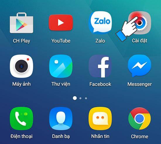 chuyển ứng dụng qua thẻ nhớ trên android