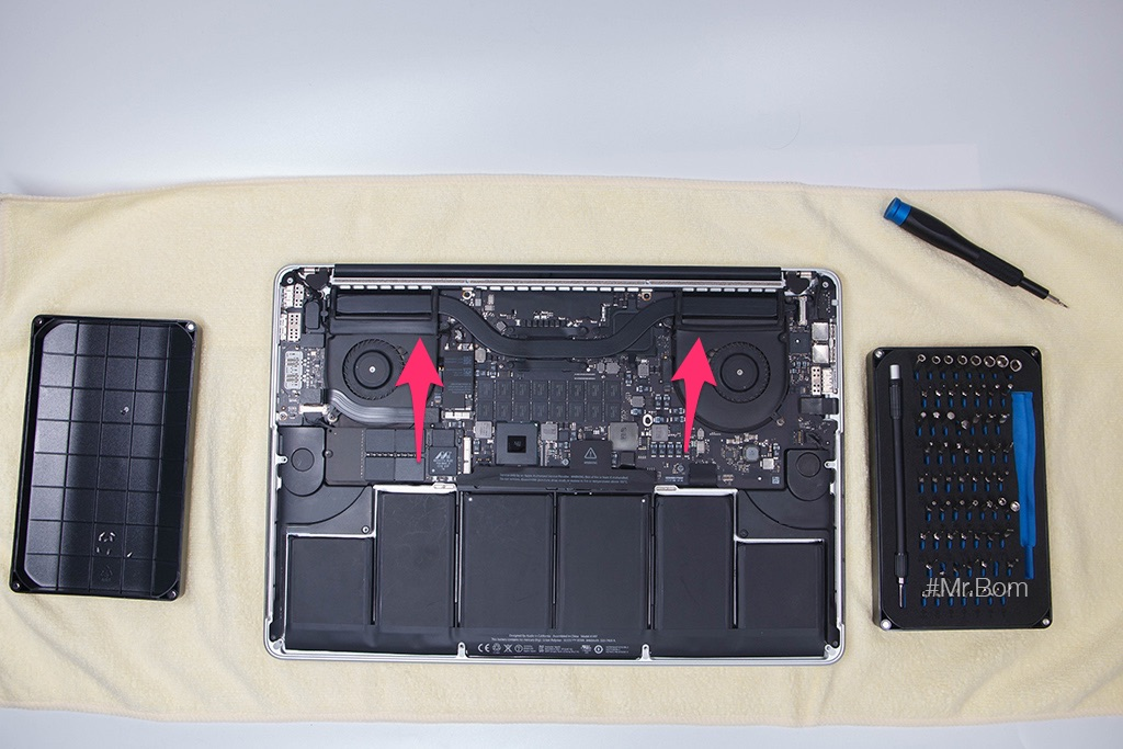thay keo tản nhiệt cho macbook